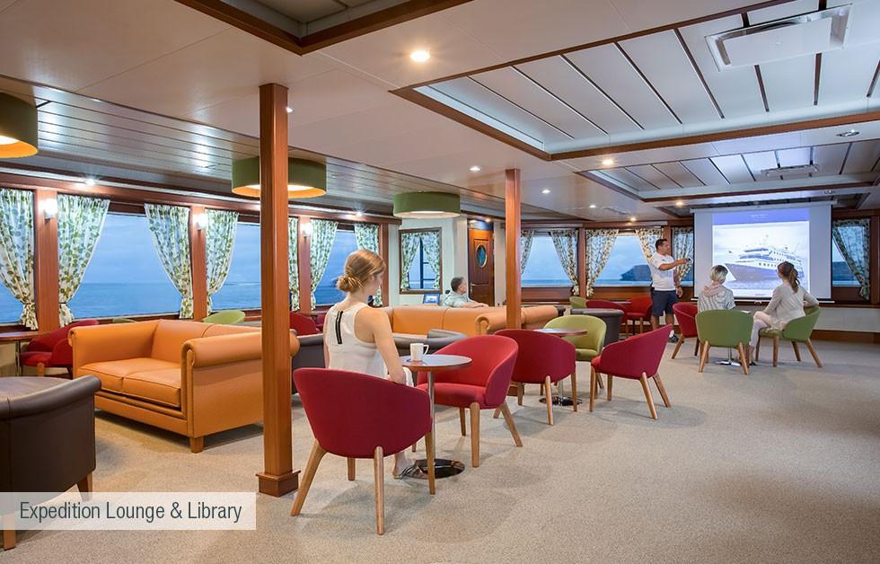 Expedition Lounge & Bibliothek