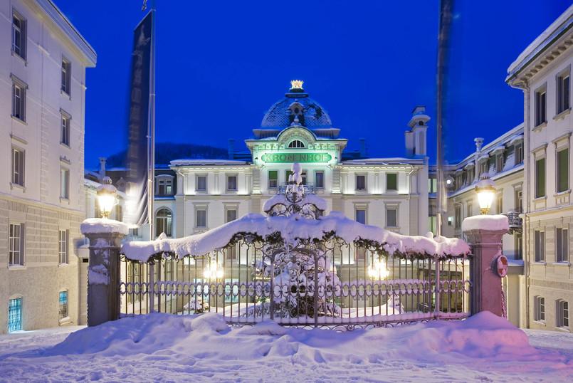 Grand Hotel Kronenhof | Innenhof