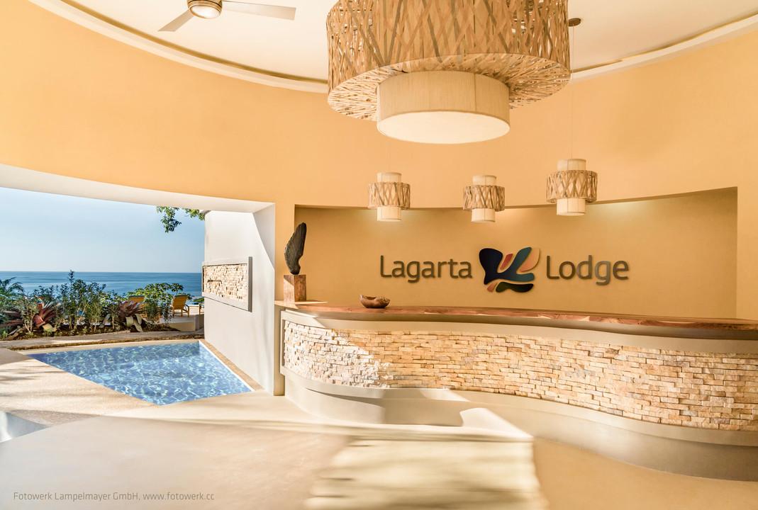 Lagarta Lodge - Rezeption