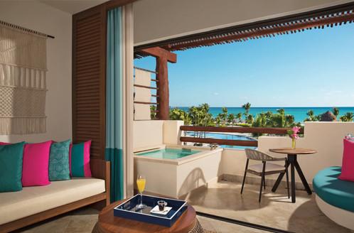 Junior Suite Ocean View, Balkon