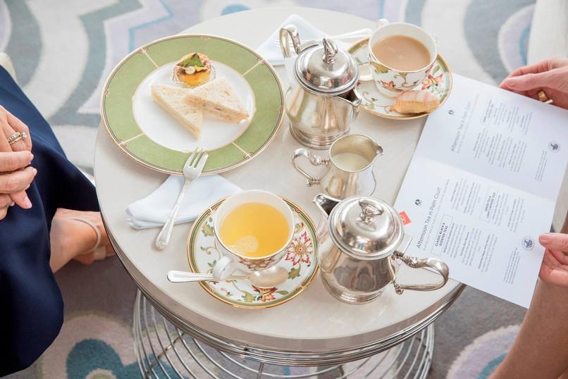 Tea Time im Palm Court