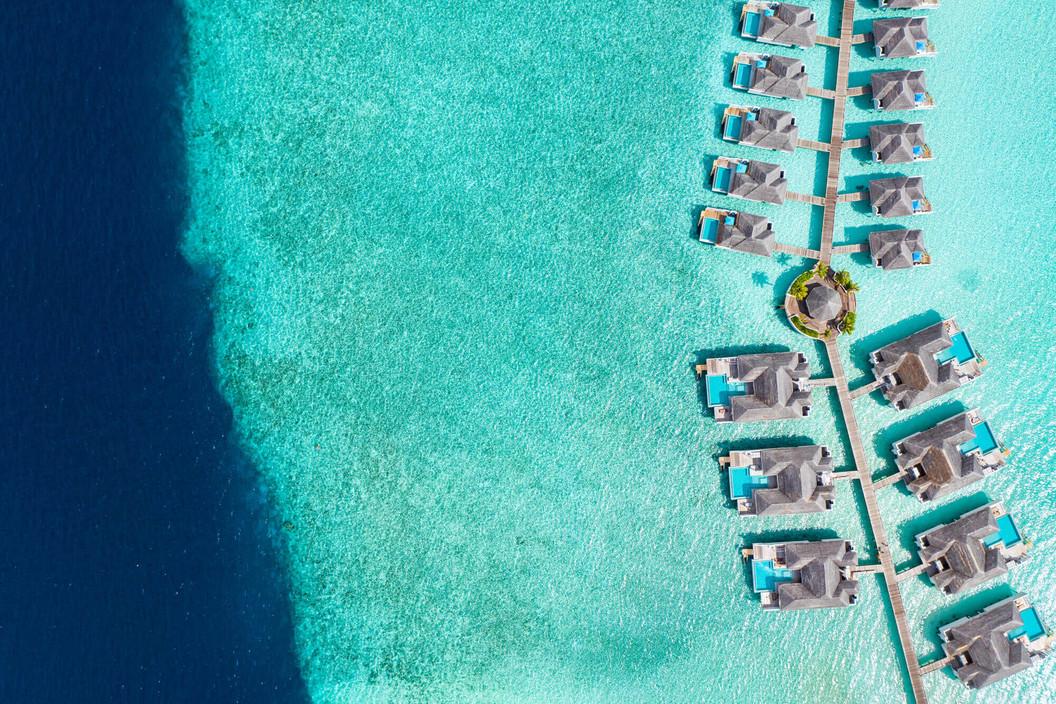 Seaside Finolhu - Wasserbungalows