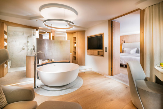 Spa Deluxe Zimmer Copyright Global Image Creation – 7132 Hotel, Vals