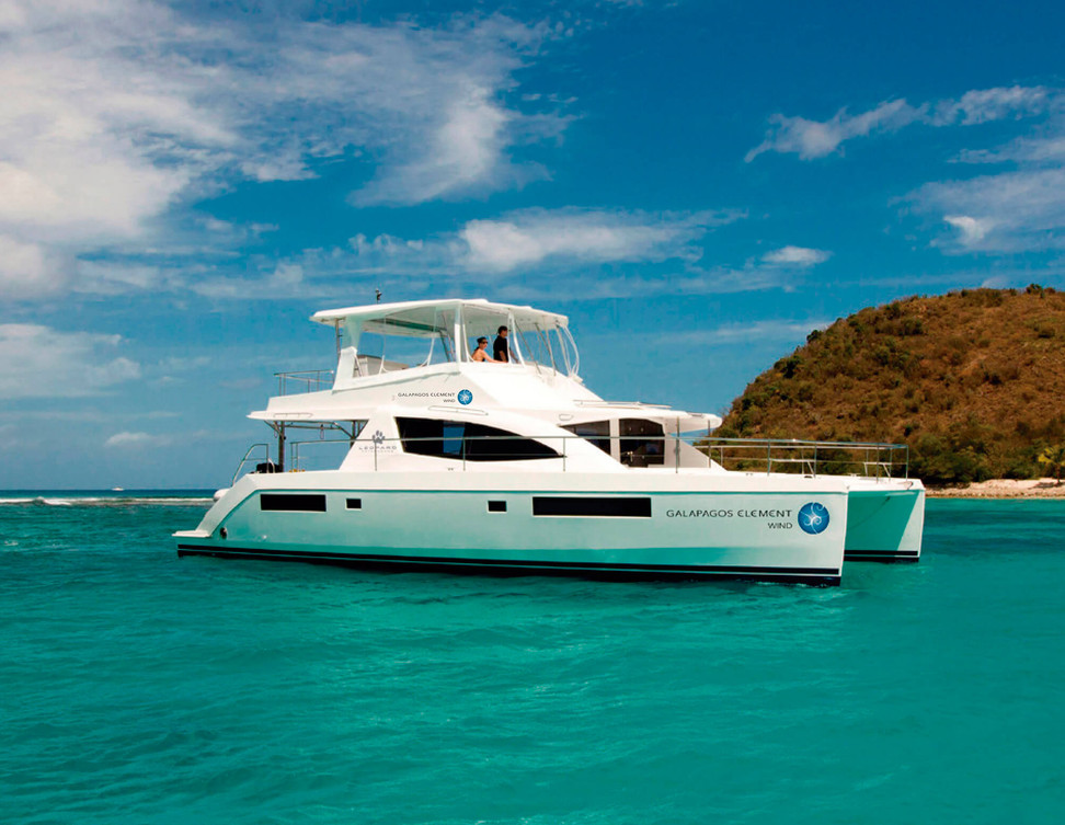 Galapagos Elements Wind Yacht