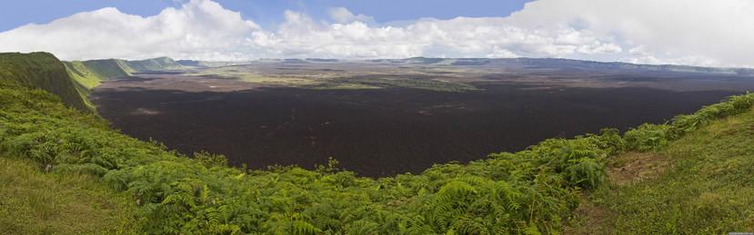 Sierra Negra Vulkan