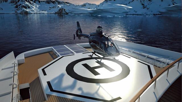 Landeplatz Helikopter