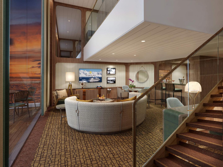 Wintergarden Suite, Wohnzimmer