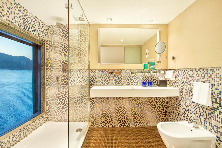 Oberoi Zahra - Luxury Cabin Badezimmer