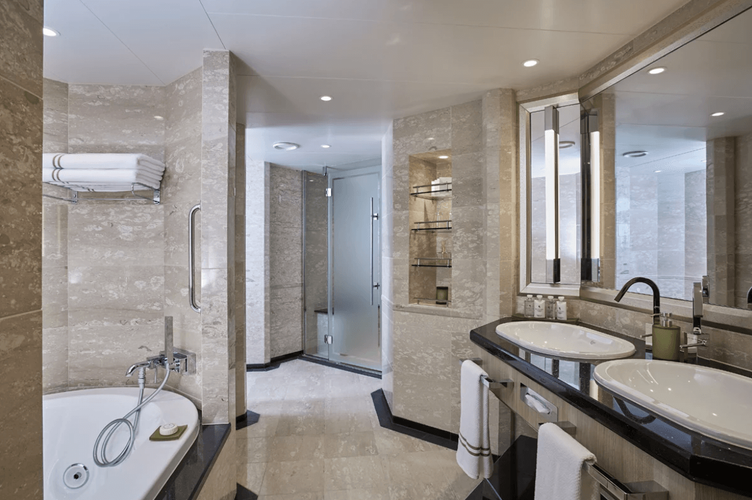 Owners Suite Badezimmer
