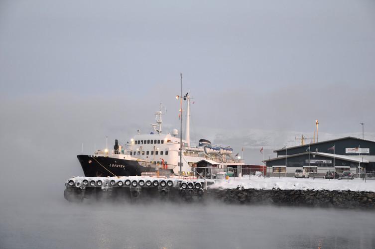 MS Lofoten, Kirkenes
