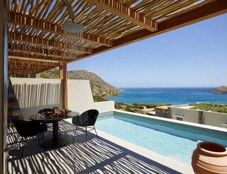 Executive Room Private Pool, Sea View