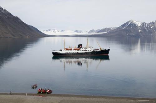MS Nordstjernen, Spitzbergen