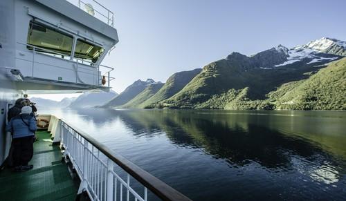 MS Nordlys, Hjorundfjorden
