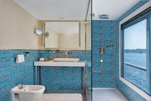 Oberoi Philae Badezimmer Luxury Cabin