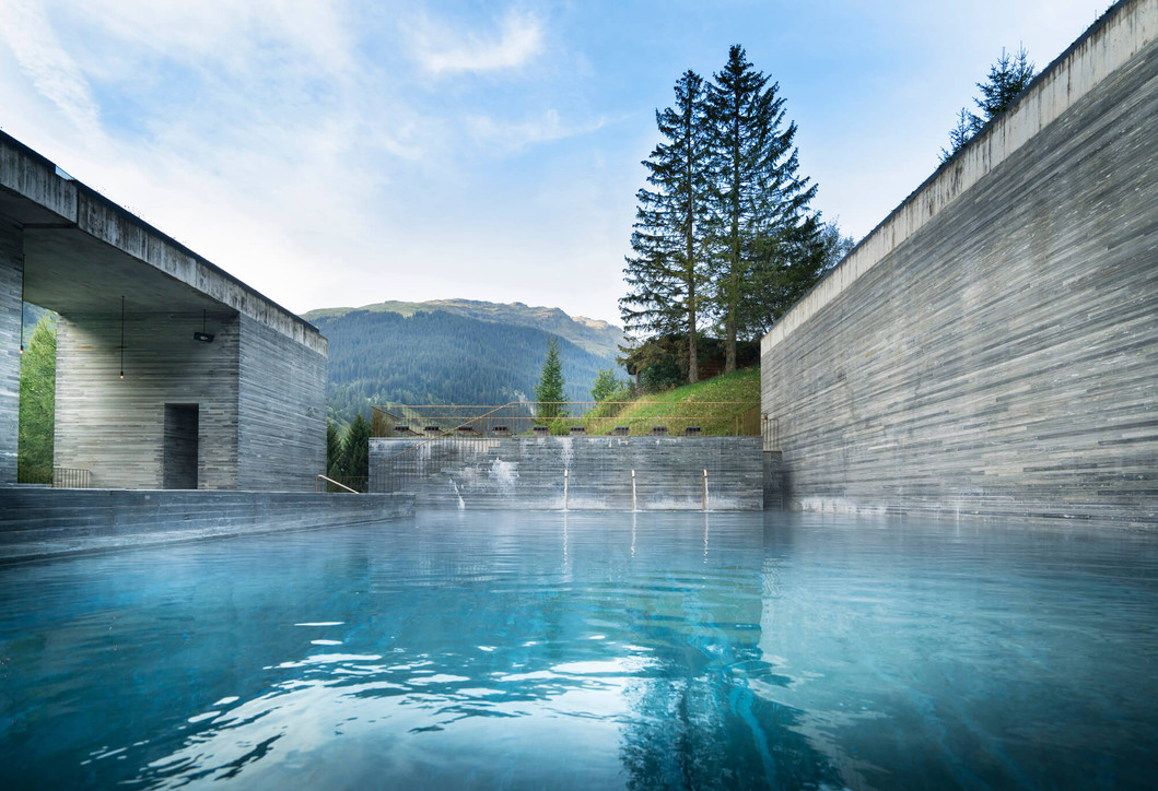 Therme - Copyright Global Image Creation – 7132 Hotel, Vals