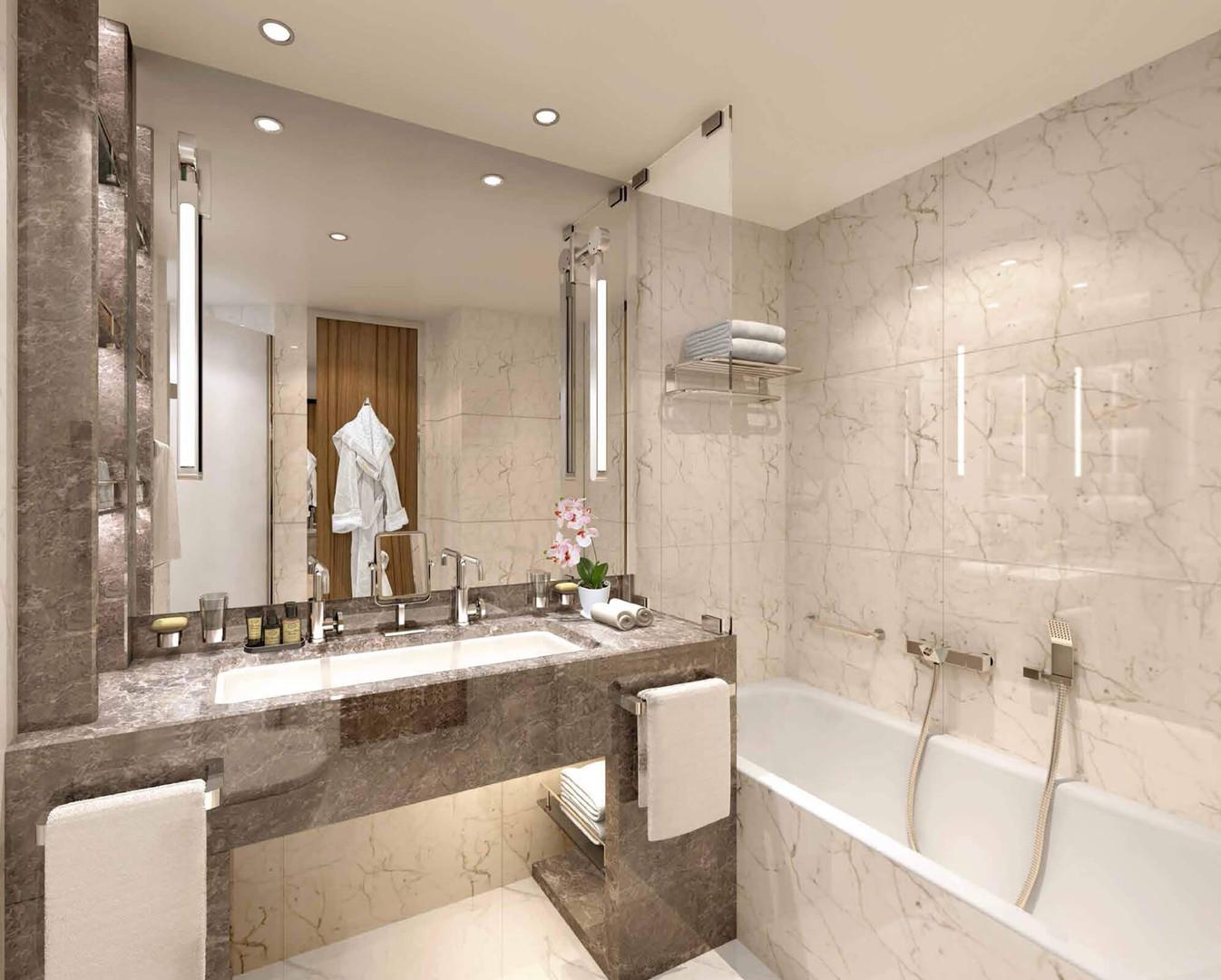 Veranda Suite, Badezimmer