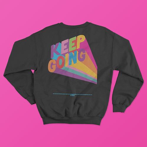 Tim Singleton / KEEP GOING Sweater