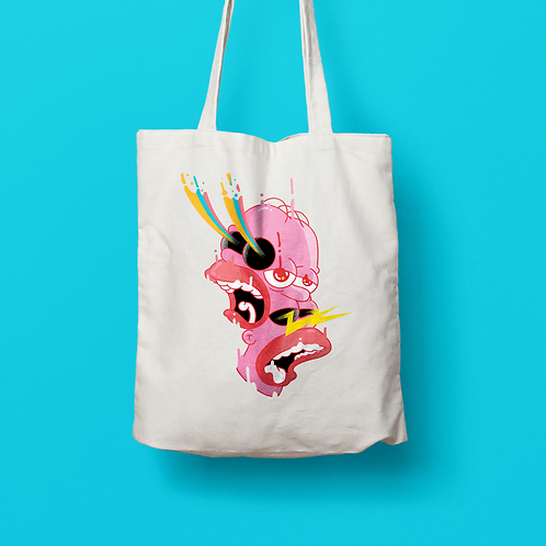 AndyPineapples / SOMETHING SOMETHING Tote