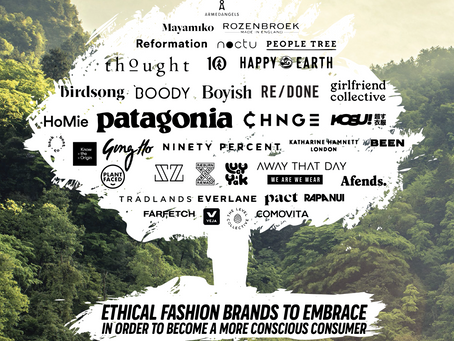 ETHICAL BRANDS TO EMBRACE & FAST FASHION BRANDS TO AVOID
