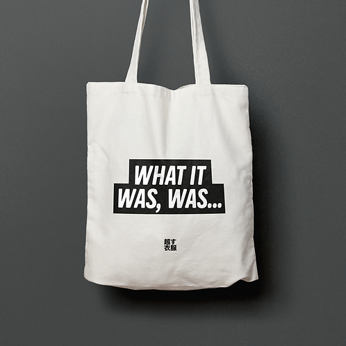 KOSU! x WHAT IT WAS,WAS / TOTE BAG