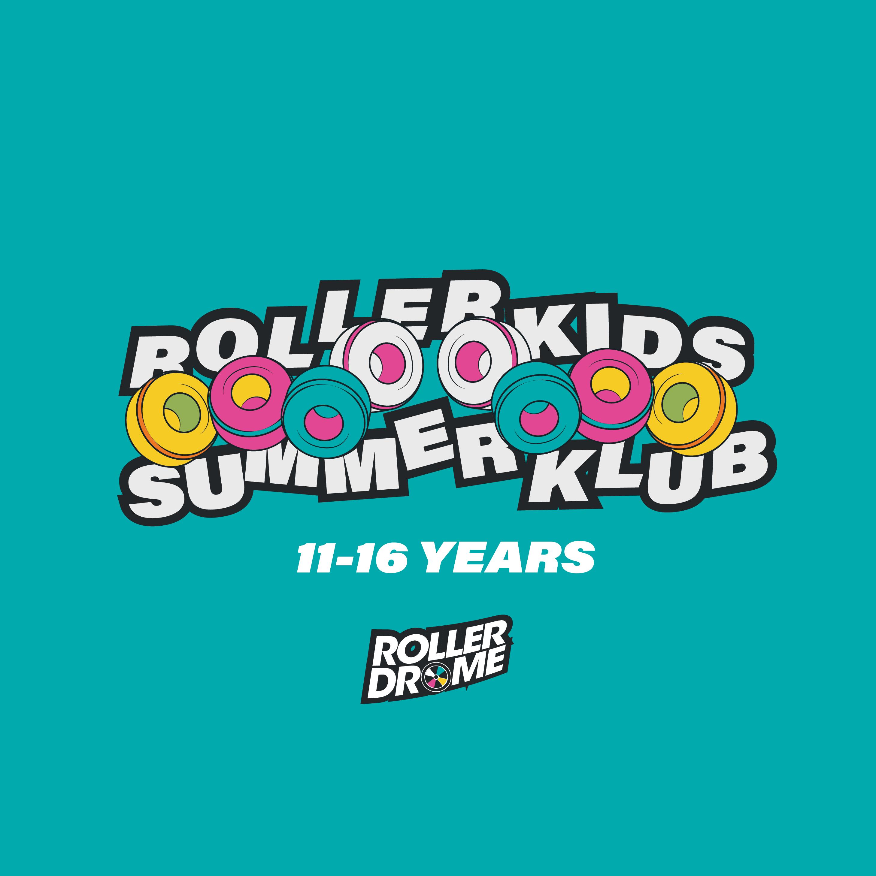 Rollerkids Summer Klub 11-16 years