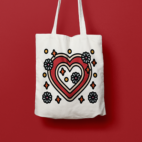 Meinhass / HAPPINESS IS WITHIN YOURSELF TOTE