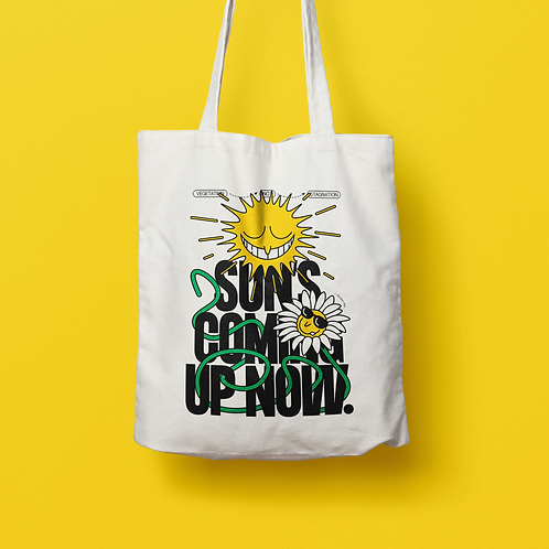 _p.i.l.e_ / SUNS COMING UP NOW Tote