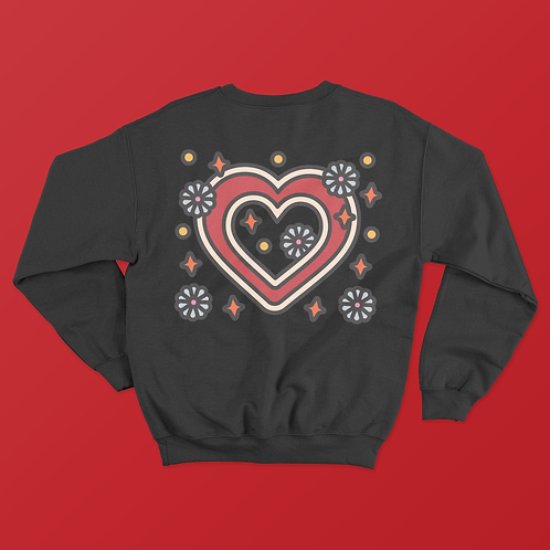 Meinhass / HAPPINESS IS WITHIN YOURSELF Sweater