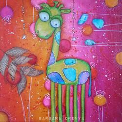 Griffith the 5 legs giraffe