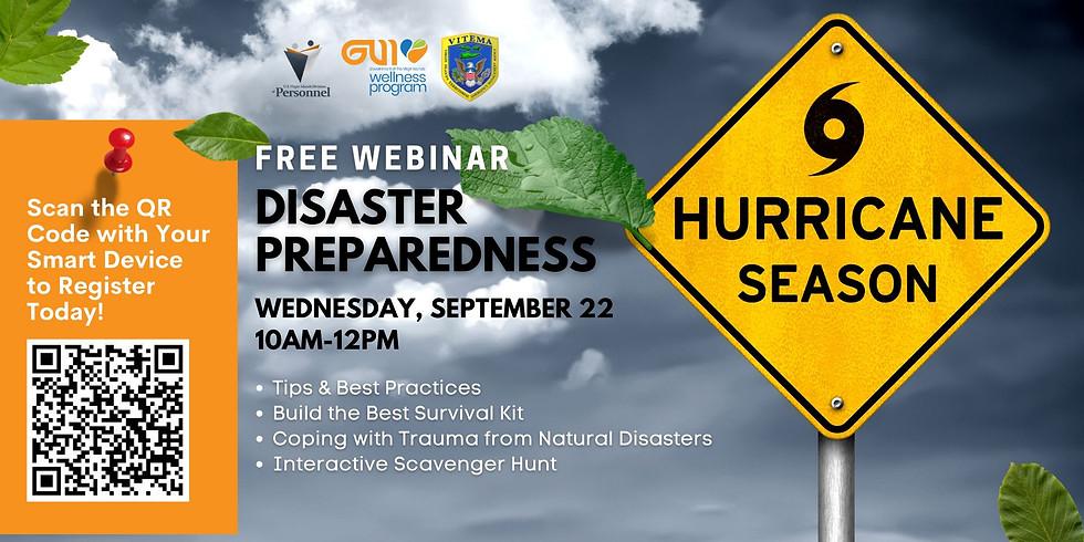 Disaster Preparedness Free Webinar