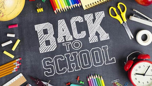 It's nearly time to go Back to School!