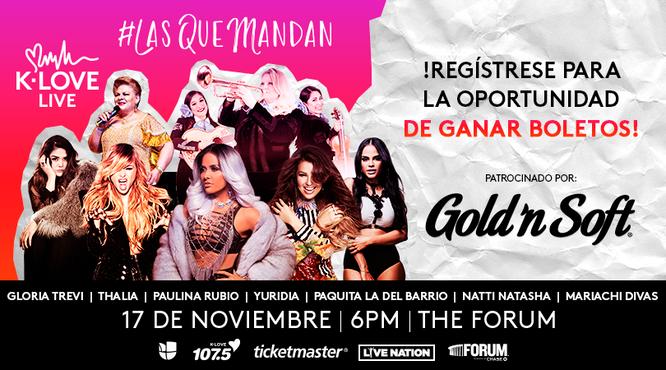 Las Que Mandan - Gold'n Soft 2018