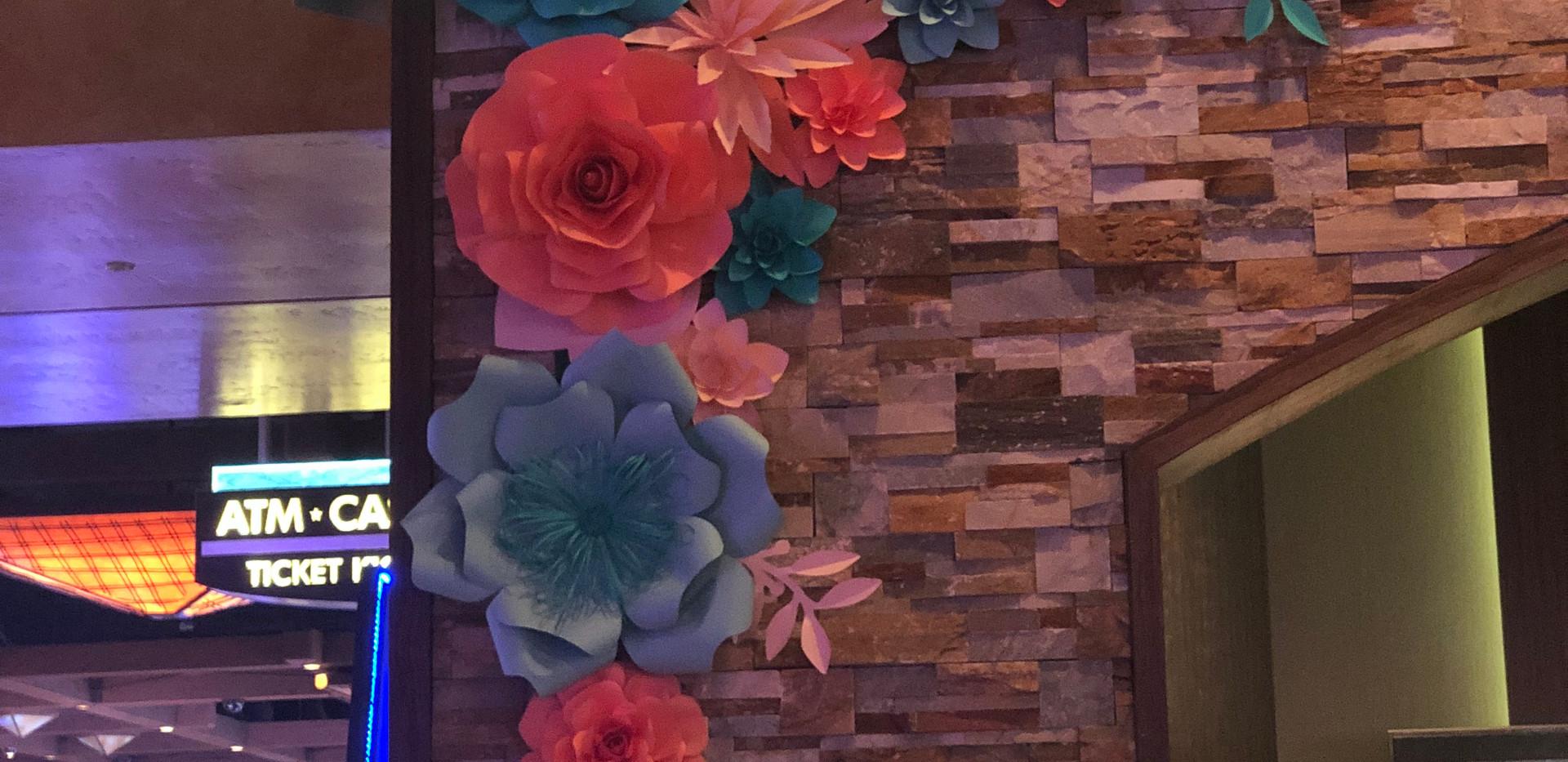 The Silverton Casino, Paper Flowers