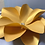 "Thumbnail: ""AVA"" Hard Copy Paper Flower Template Bundle with Flower Center"