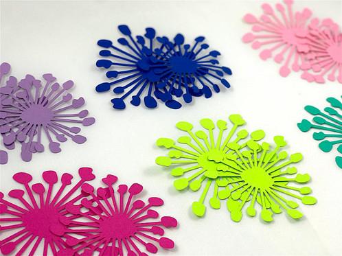 Inception bundle hard copy paper flower template flower center paper flower templates reusable mightylinksfo