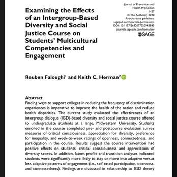 Reuben's Dissertation was Published