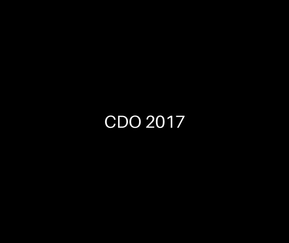CDO 2017