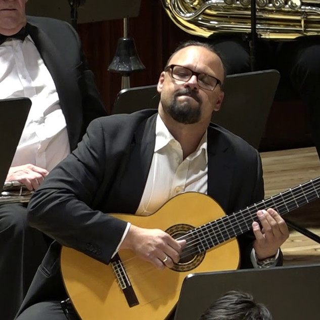 "Lukáš Chejn and the CNSO play Joseph Curiale's ""Adelina De Maya"" Movement 1"