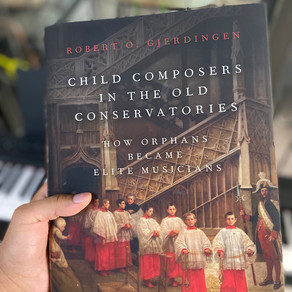 Child Composers hard copy arrives