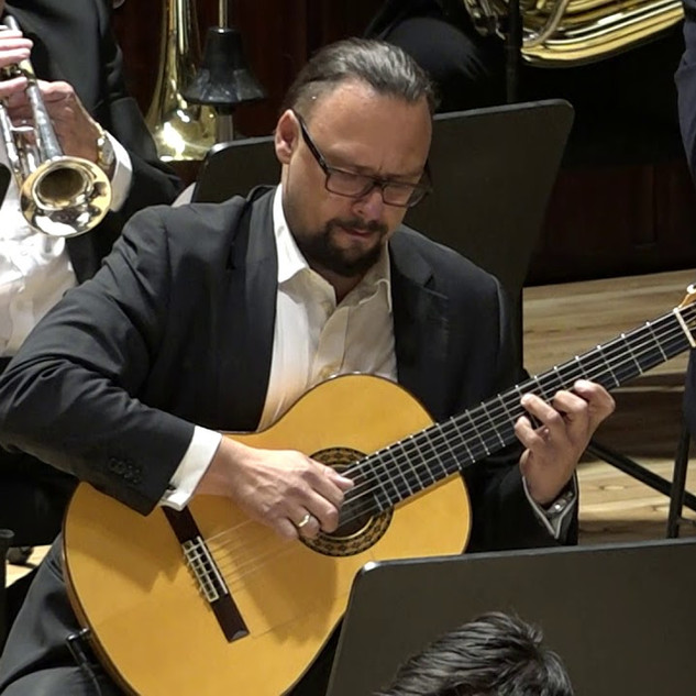 "Lukáš Chejn and the CNSO play Joseph Curiale's ""Adelina De Maya"" Movement 2"