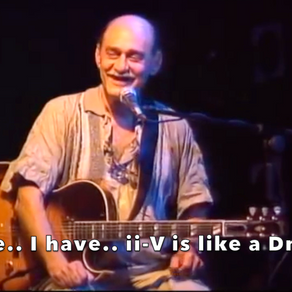 Joe Pass on roman numerals and modes