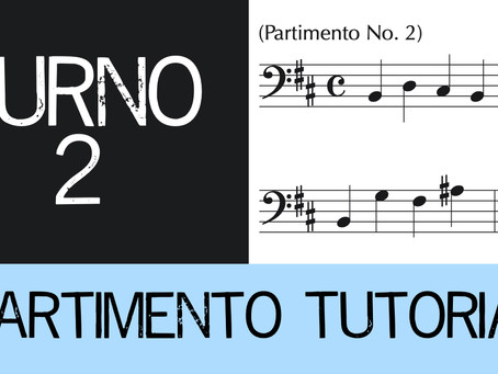 Partimento Tutorial Furno No. 2 (4-voice)