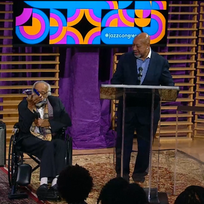 Barry Harris is Awarded the Bruce Lundvall Visionary Award