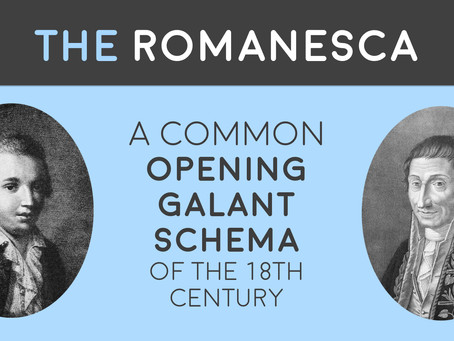 The Romanesca: A common opening galant schema in the 18th century
