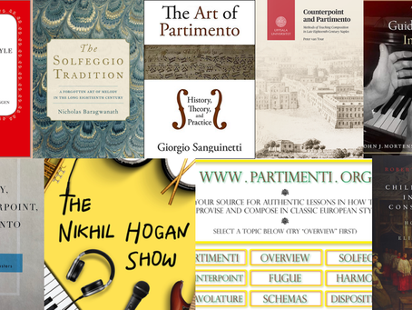 The ultimate Neapolitan conservatory method (partimento, solfeggio, counterpoint) resource list