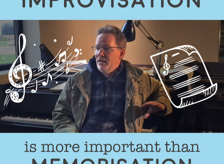 "John Mortensen: ""Improvisation is more important than memorization"""