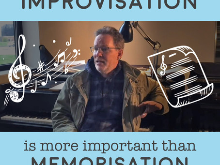 "John Mortensen: ""Improvisation is more important than memorization"""
