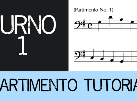 Partimento Tutorial Furno No. 1 (4-voice)