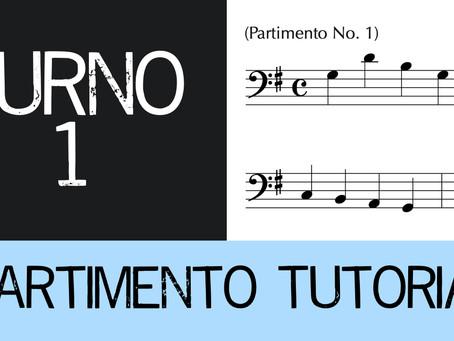 Partimento Tutorial Furno No. 1 (4-voice)