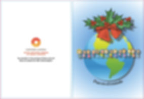 Centro Latino Christmas Card - Peace On